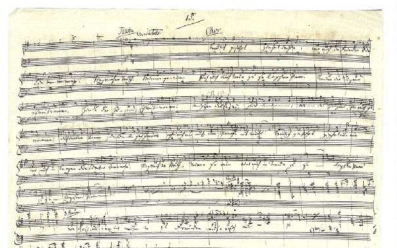 'Here Comes the Bride' sheet music on sale for $3.6 million