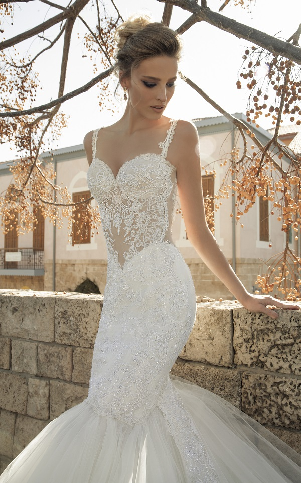 Berta Bridal Illusion Wedding Dress 10
