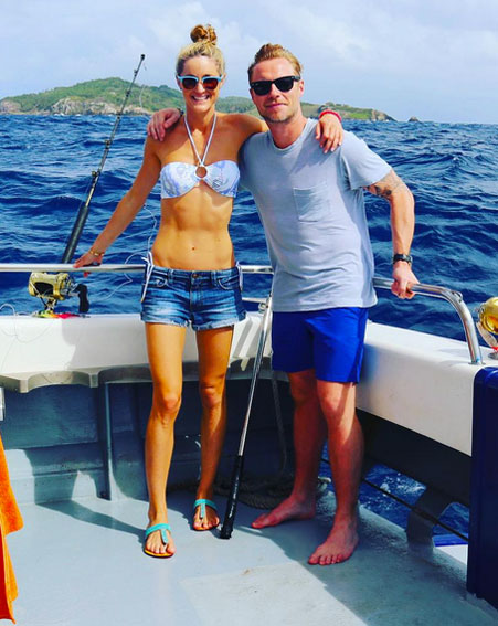 Newlyweds Ronan and Storm Keating share honeymoon snaps