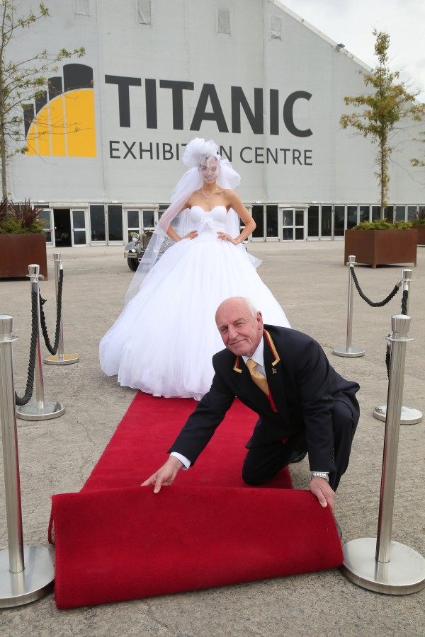 wedding journal show at the Titanic Exhibition Centre (1)
