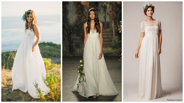 How to choose a wedding dress to flatter your body shape