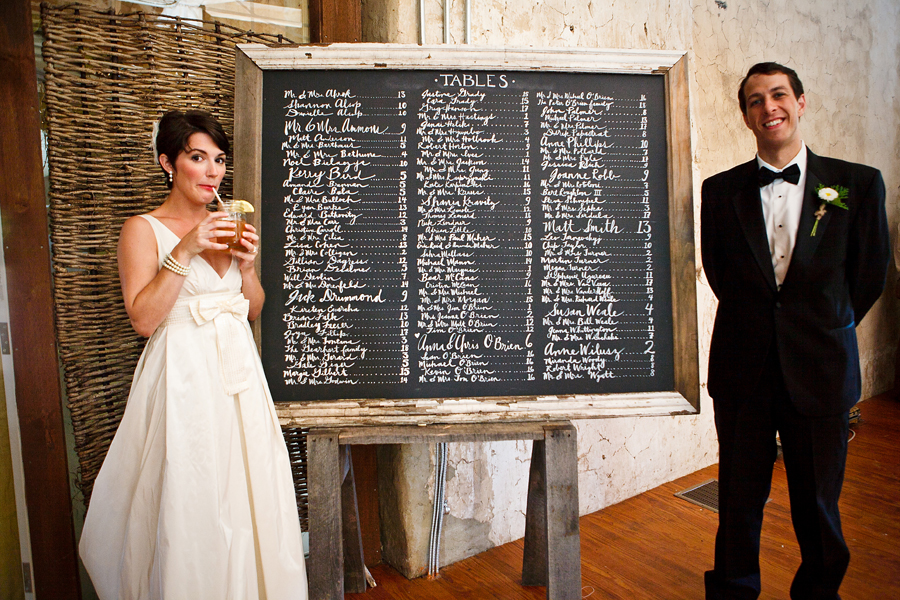 Chalkboard table plan - Lorraine Daley Wedding Photography