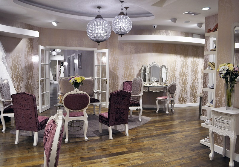 Bridal Rooms at McElhinneys