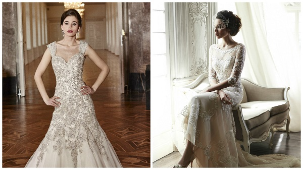 Wedding dress trend alert – shades of coffee and champagne