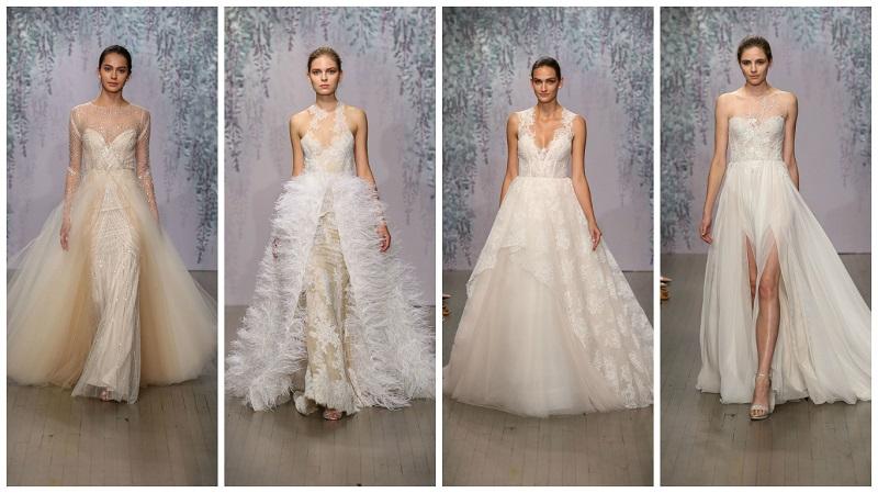 Monique Lhuillier New York Bridal Week 2