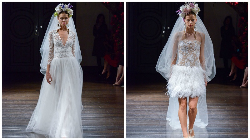 Naeem Khan New York Bridal week 1