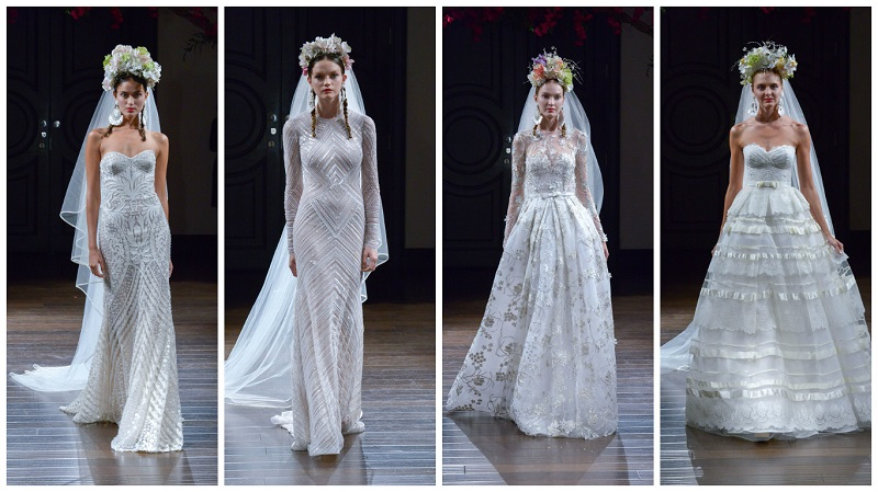 Naeem Khan New York Bridal week 2
