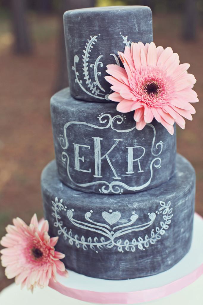 chalkboard cake - bridalville.com