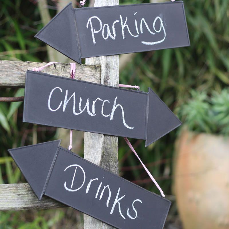 chalkboard signage - weddingideasmag.com