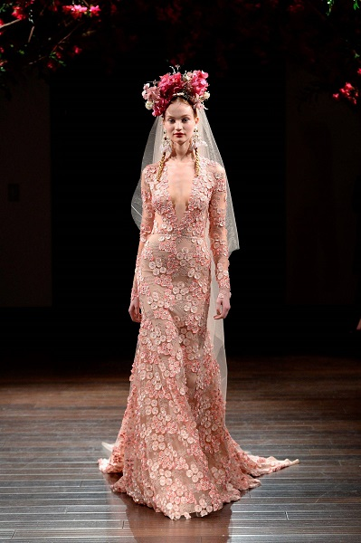Cork model makes runway debut at New York Bridal Week