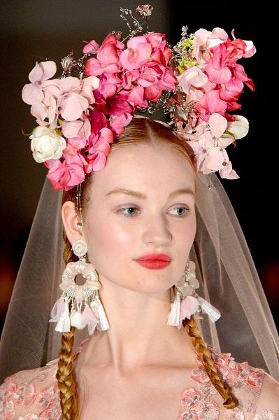 Cork model makes runway debut at New York Bridal Week