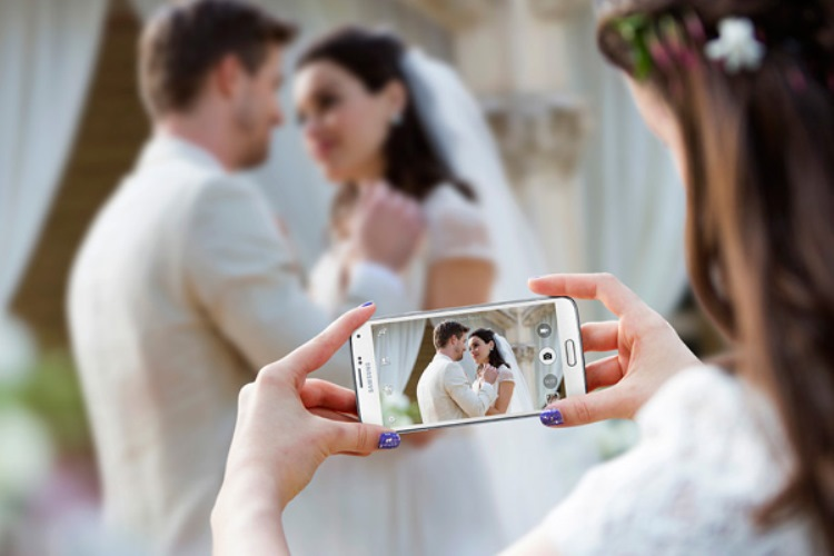 social media ban at weddings