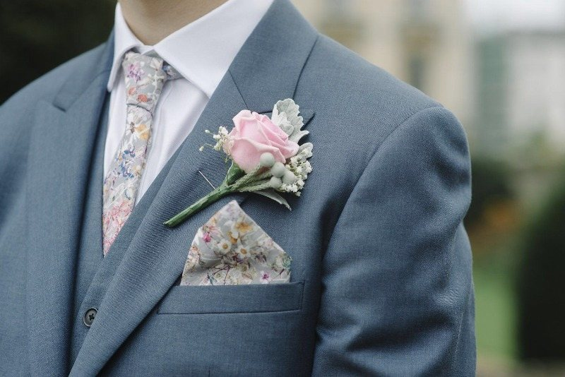 A guide to ties for grooms