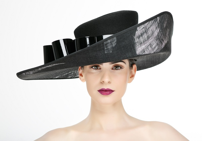 wedding hat trends - wide brim