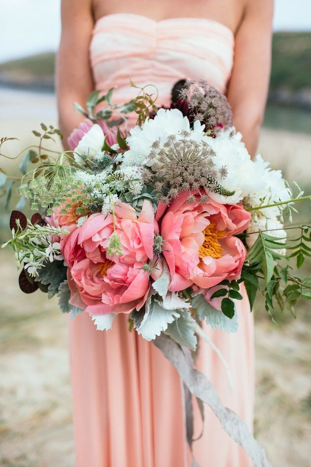 peony bridal bouquet 5
