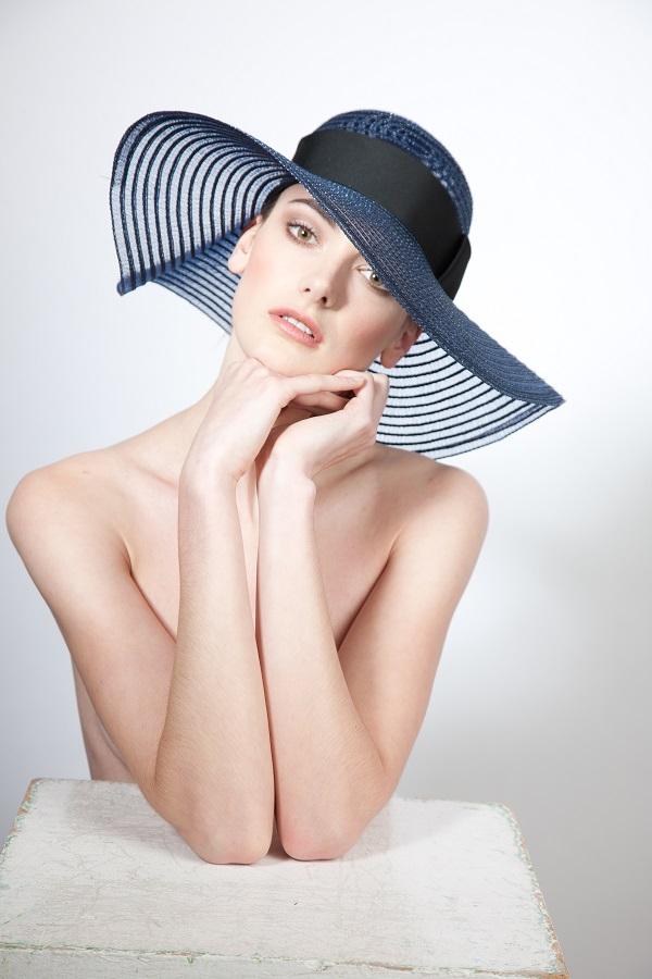 Wedding hat trends - wide brim 2