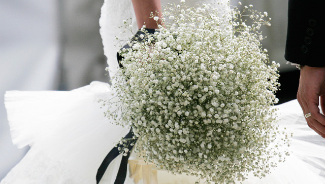 Gypsophila bouquet - Trueflowerdesign.com