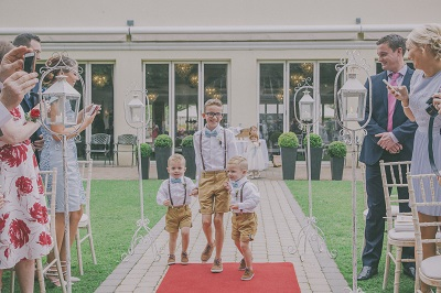 Eight ways to make your wedding venue child friendly