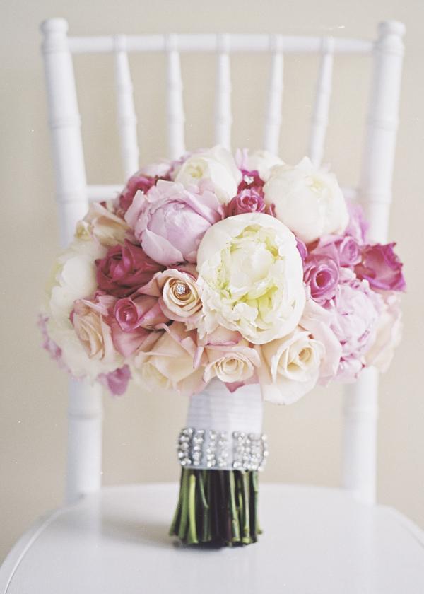 peony bridal bouquet 2