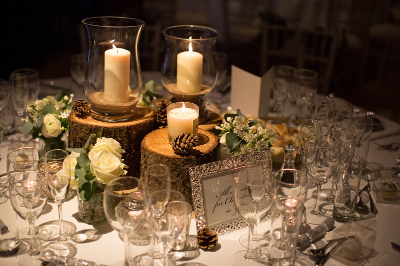 The Carriage Rooms table decor 3
