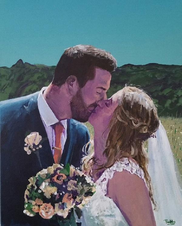 wedding painter