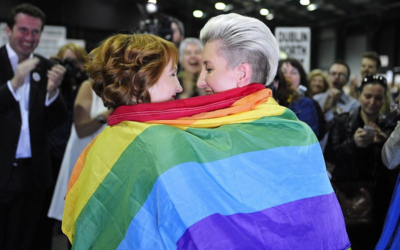 Same-sex marriage is officially legal in the Republic of Ireland