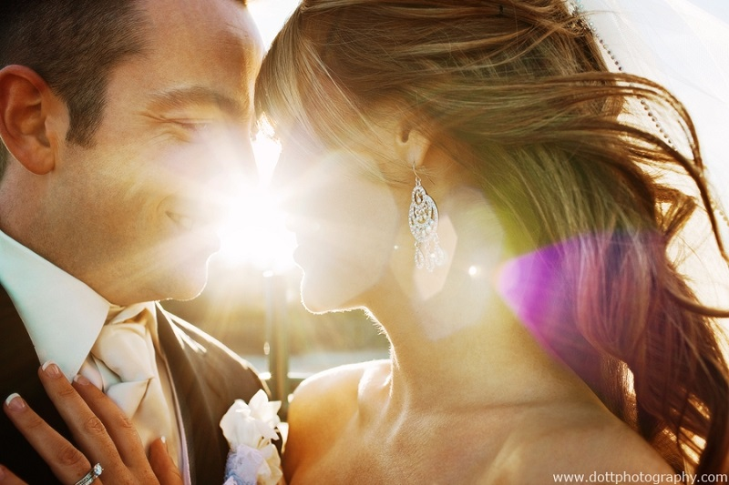 wedding photo tips - sunshine.