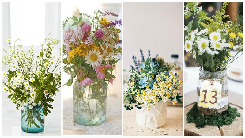 wild daisy wedding inspiration