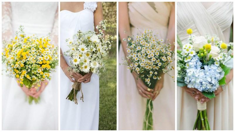 Wedding Flower Trend: Wild Daisies | Wedding Journal