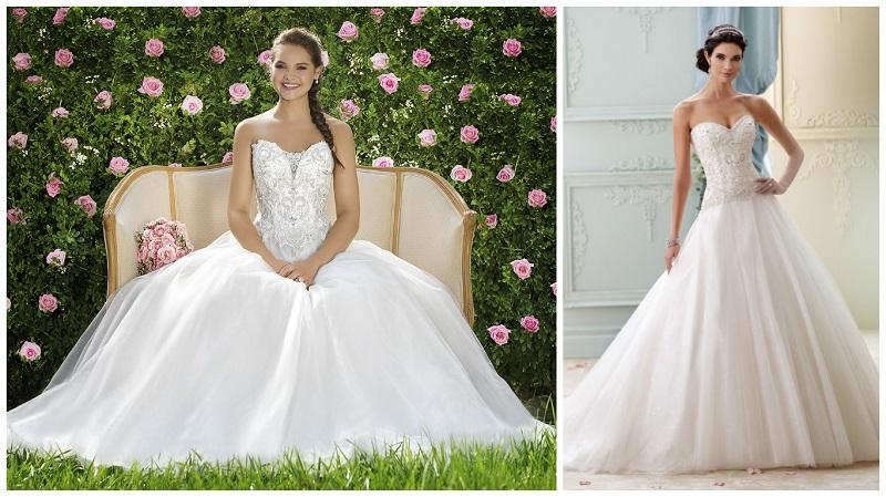 Princess Ball Gown Wedding Dresses: 30 Ball Gown Wedding Dresses Fit For A Princess