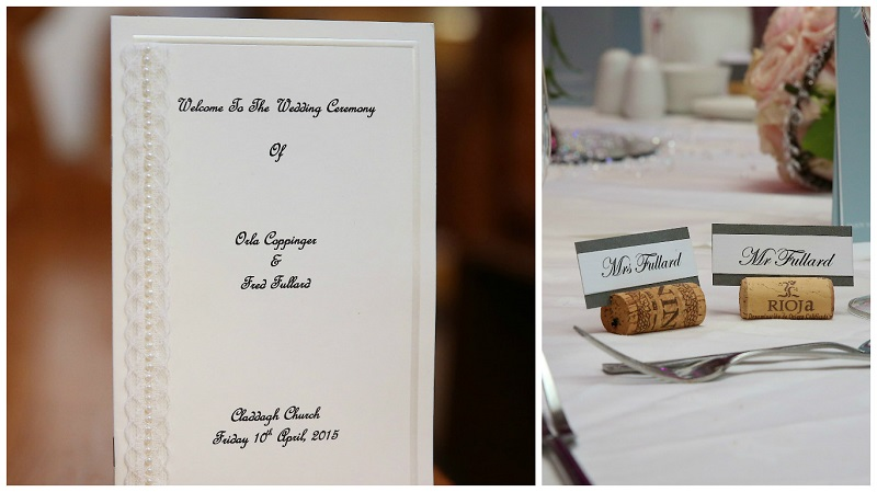 Real Irish Wedding - Orla Coppinger and Fred