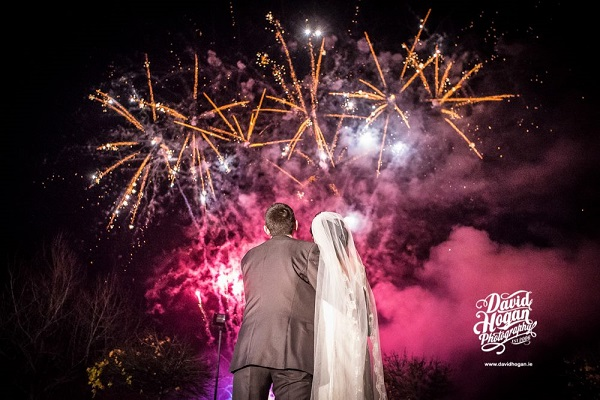 How to have a magical wedding fireworks display