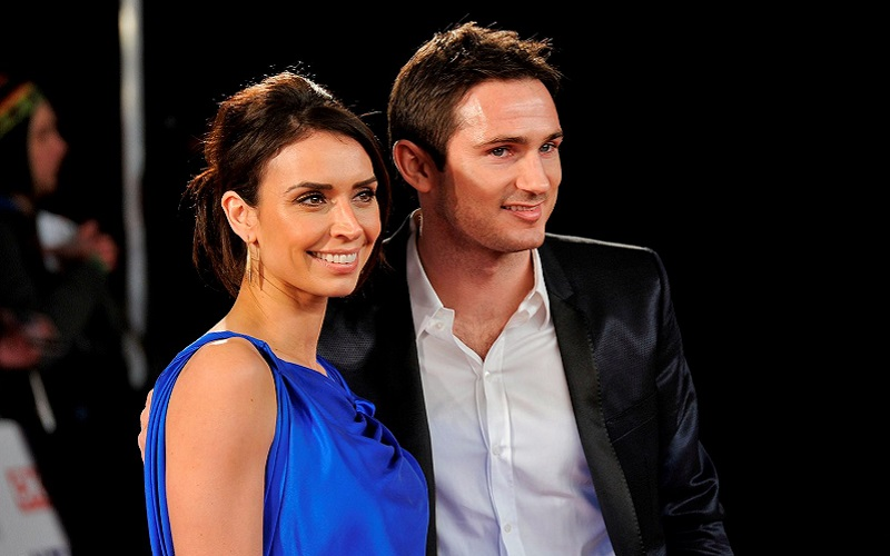 its a christmas wedding for frank lampard and christine bleakley