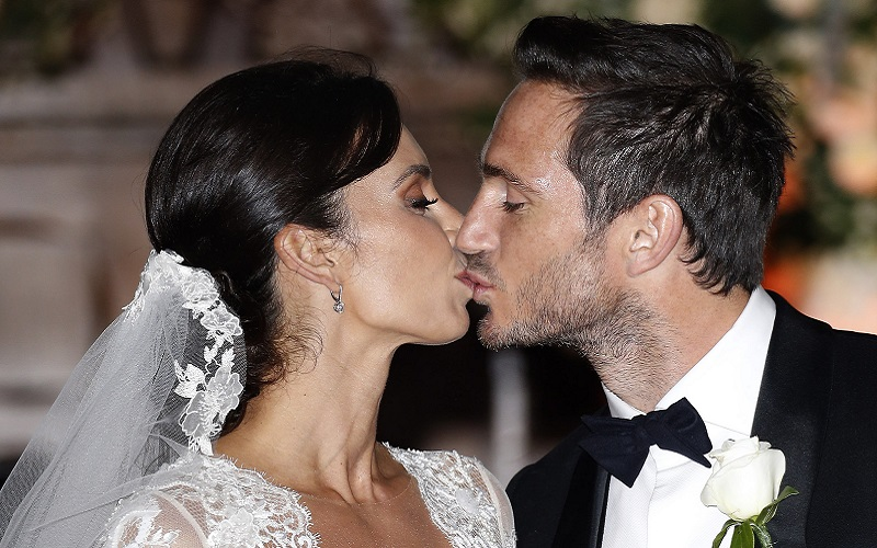 Frank Lampard and Christine Bleakley's wedding photos