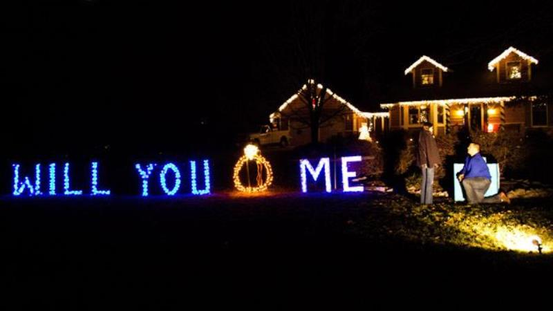 christmas eve propose