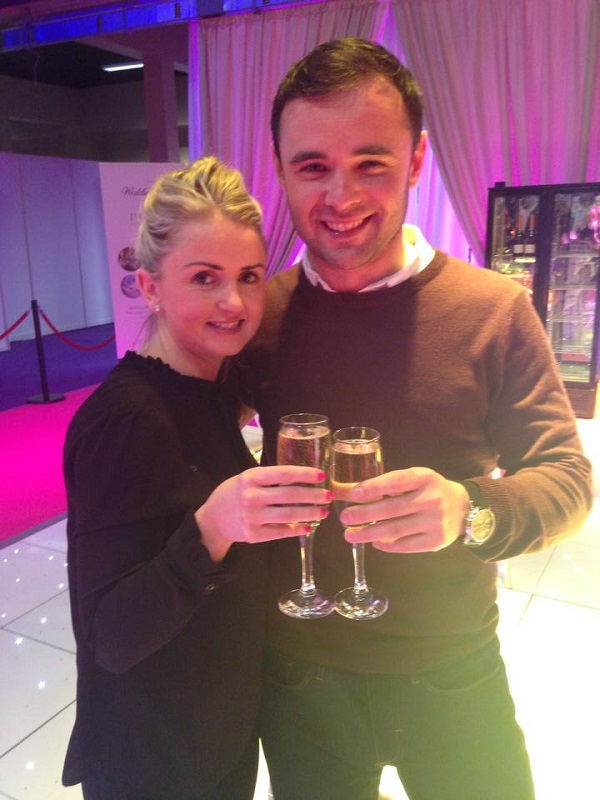 Clodagh & Mick winners of the €25,000 wedding