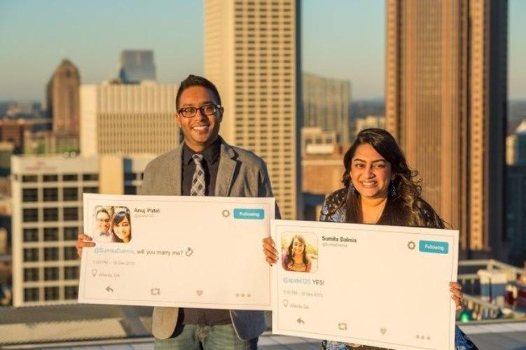 twitter proposal story
