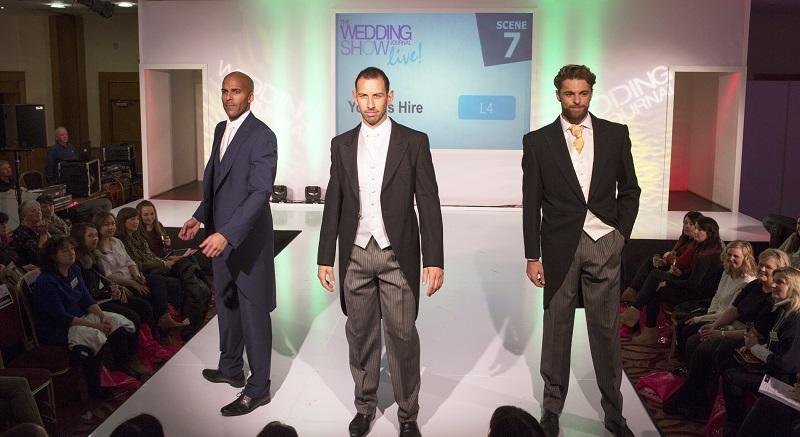 The wedding journal show catwalk models