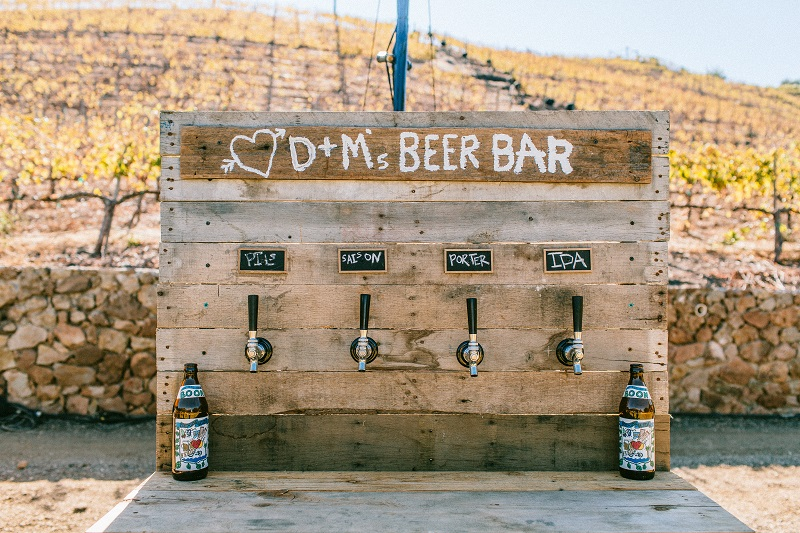 Beer pop up bar