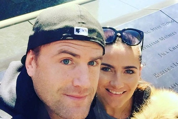 Ireland rugby star Jamie Heaslip got engaged