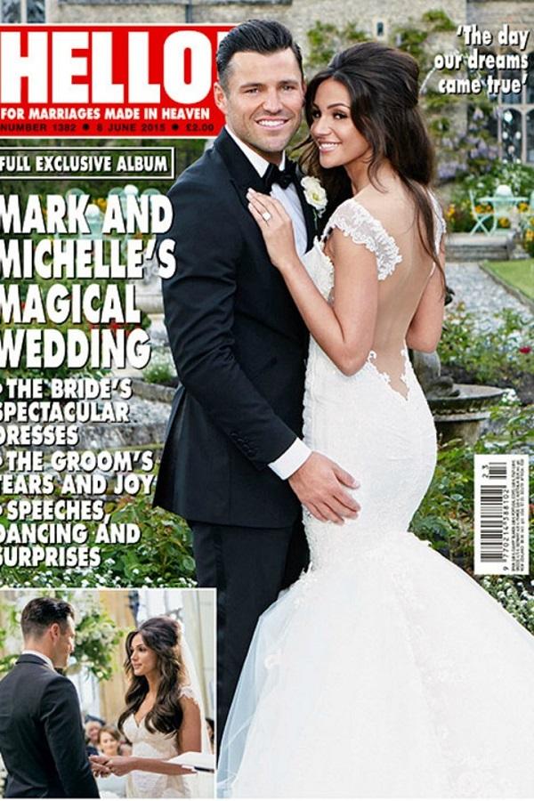 Step-by-step tutorial to get Michelle Keegan's wedding makeup look