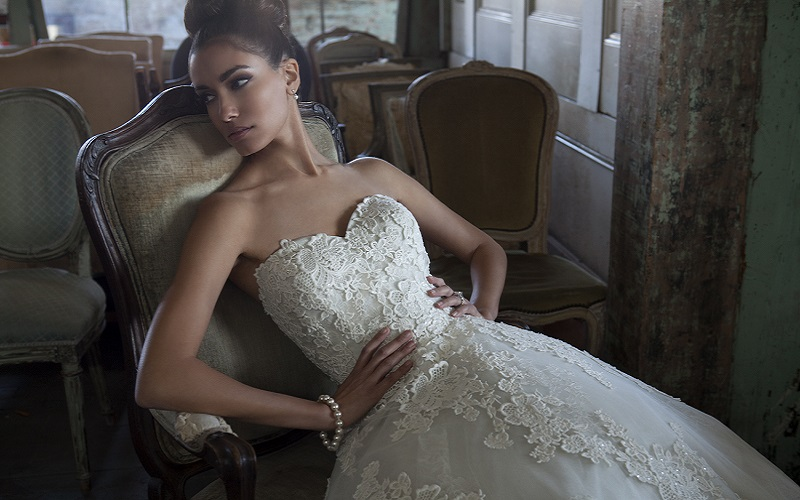 Top 40 strapless wedding dress styles