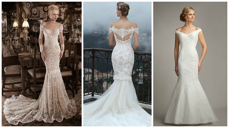 Top 25 off the shoulder wedding dresses to suit your shape ...