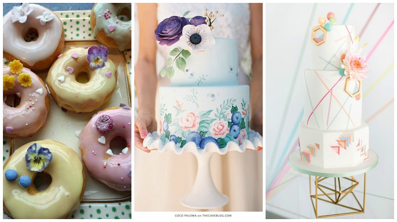 Pinterest spring wedding inspiration cakes