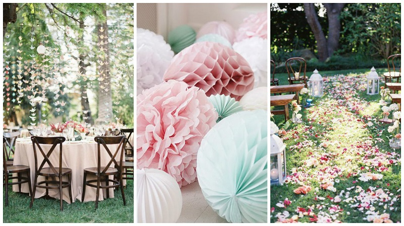 Pinterest spring wedding inspiration decor