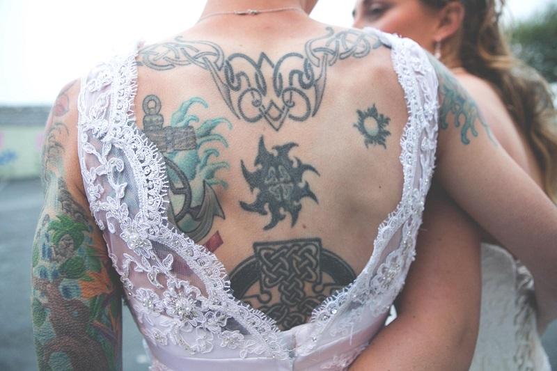Real Irish Wedding - Kristina Messenger & Jennilee Messenger