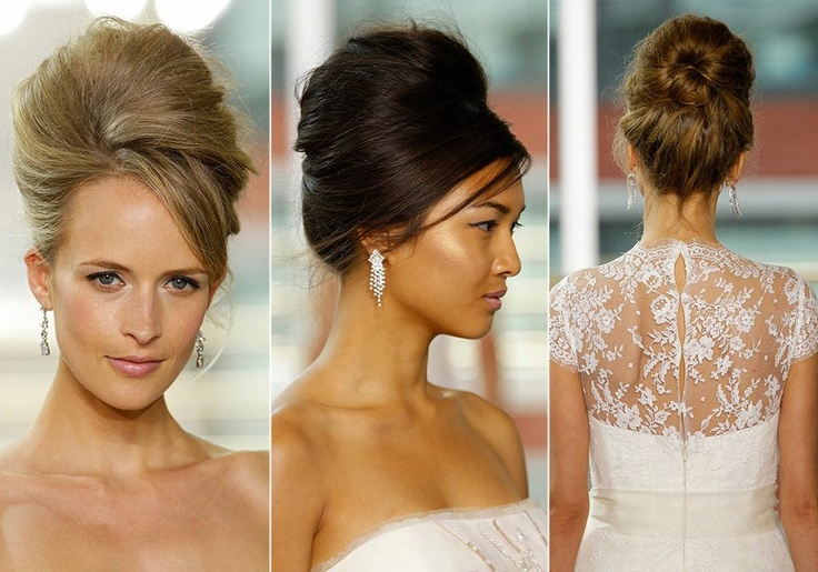 wedding hair trends - bouffant