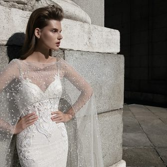 Show stopping wedding dress