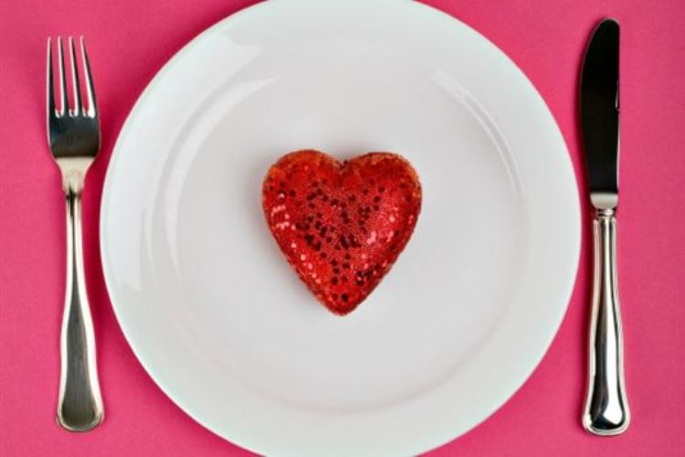 Aphrodisiac food of love wedding menu