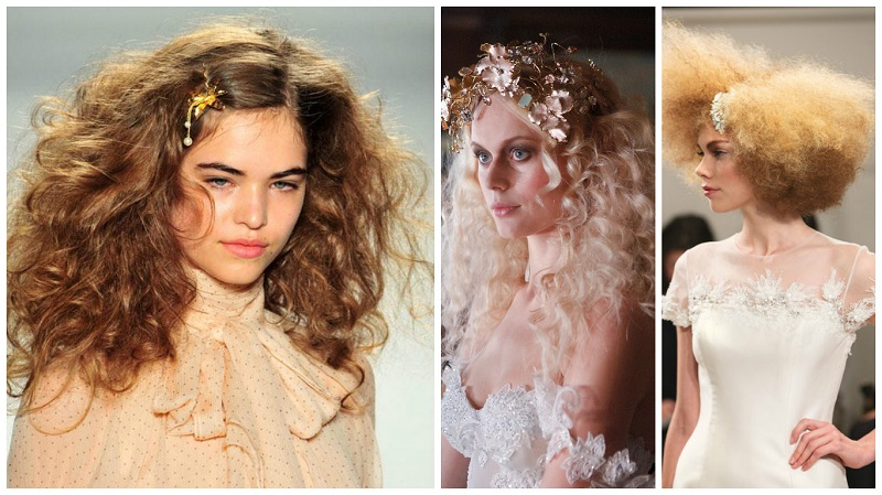 wedding hair trend - curls